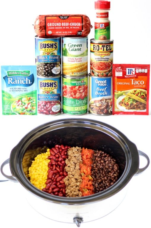 Crockpot Soup Recipes - Easy Taco Soup!