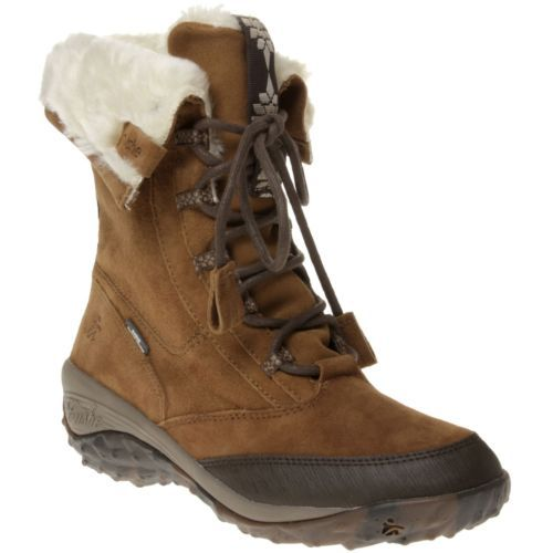 New Womens Cushe Tan Alpine Cone Leather Boots Mid-Calf Lace Up