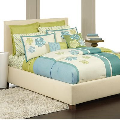 Apt 9 Hibiscus Bedding Coordinates Bed Bedroom Sets Room