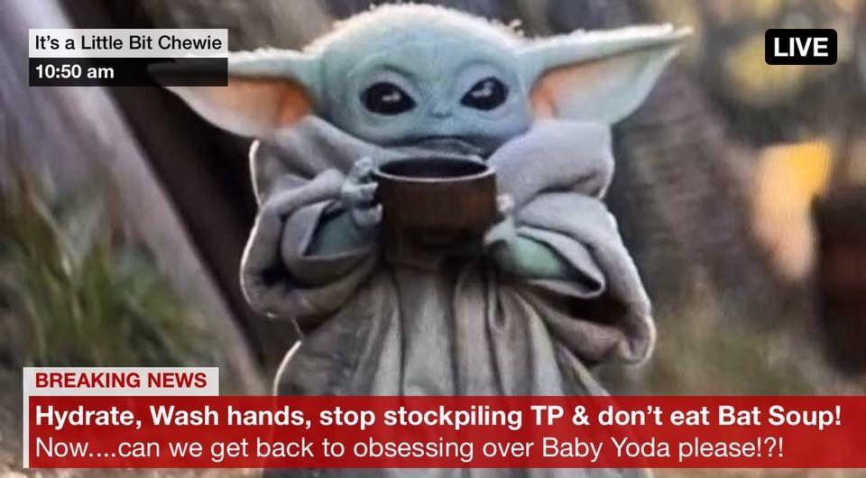 Pin By Lori Ulrich On Baby Yoda In 2020 Yoda Meme Yoda Wallpaper Disney Star Wars