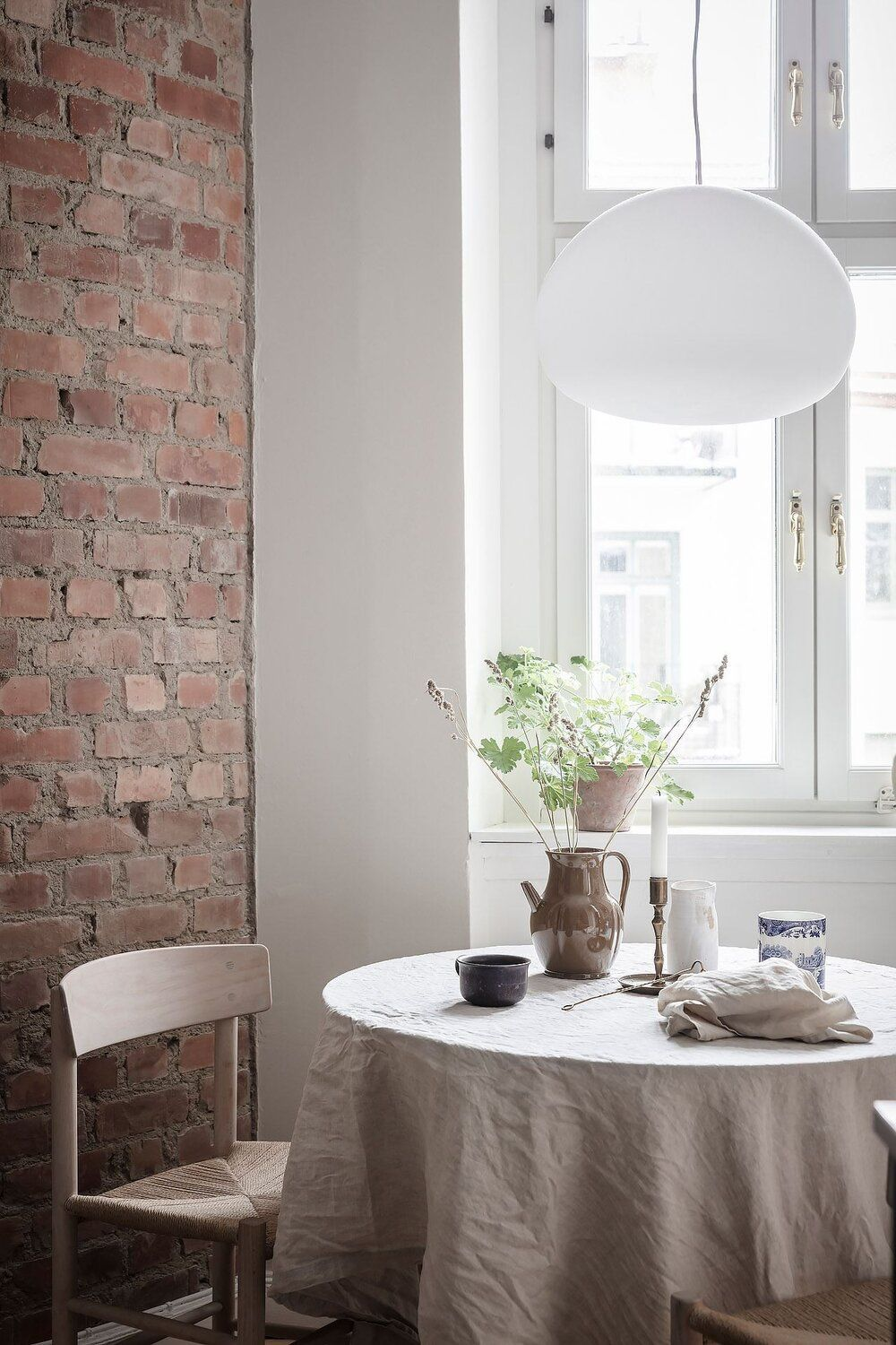 Blue and Grey Tones in a Wonderful Scandinavian Apartment — THE NORDROOM in 2021   My ...