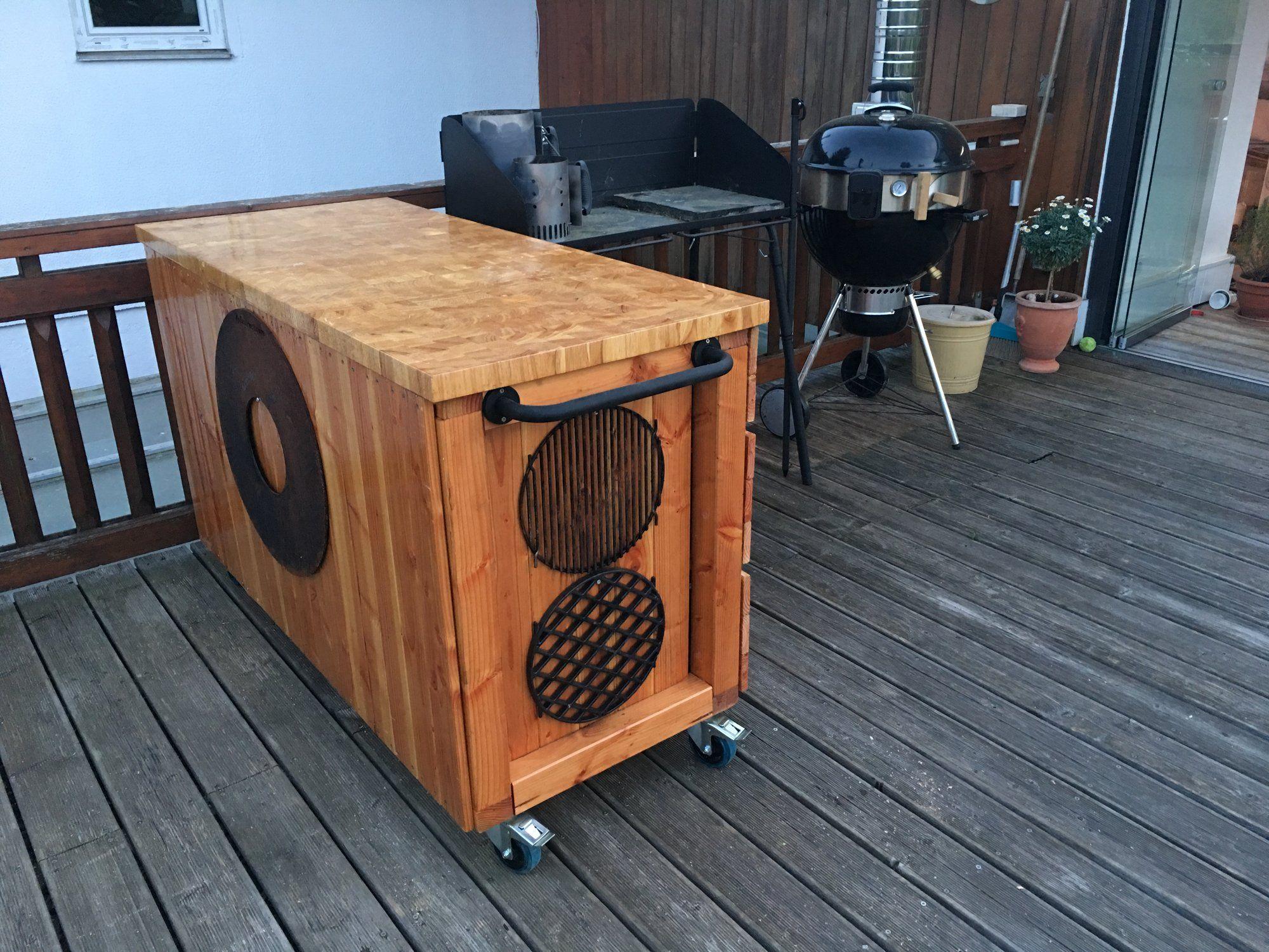 Outdoor Küche Bauen Grillsportverein : Mobiler grilltisch grillforum und bbq grillsportverein