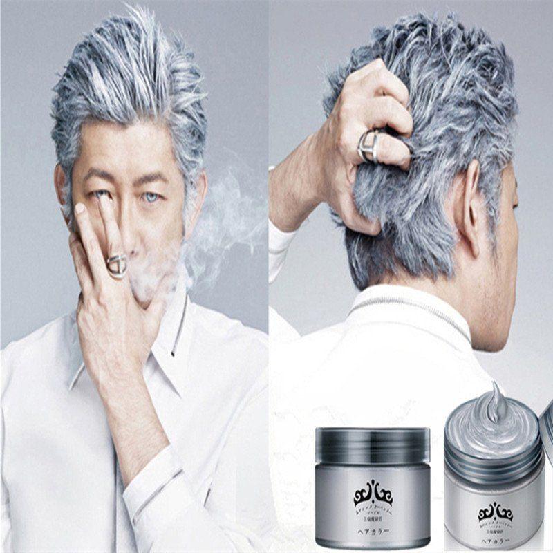 Unisex Silver Ash Hair Wax
