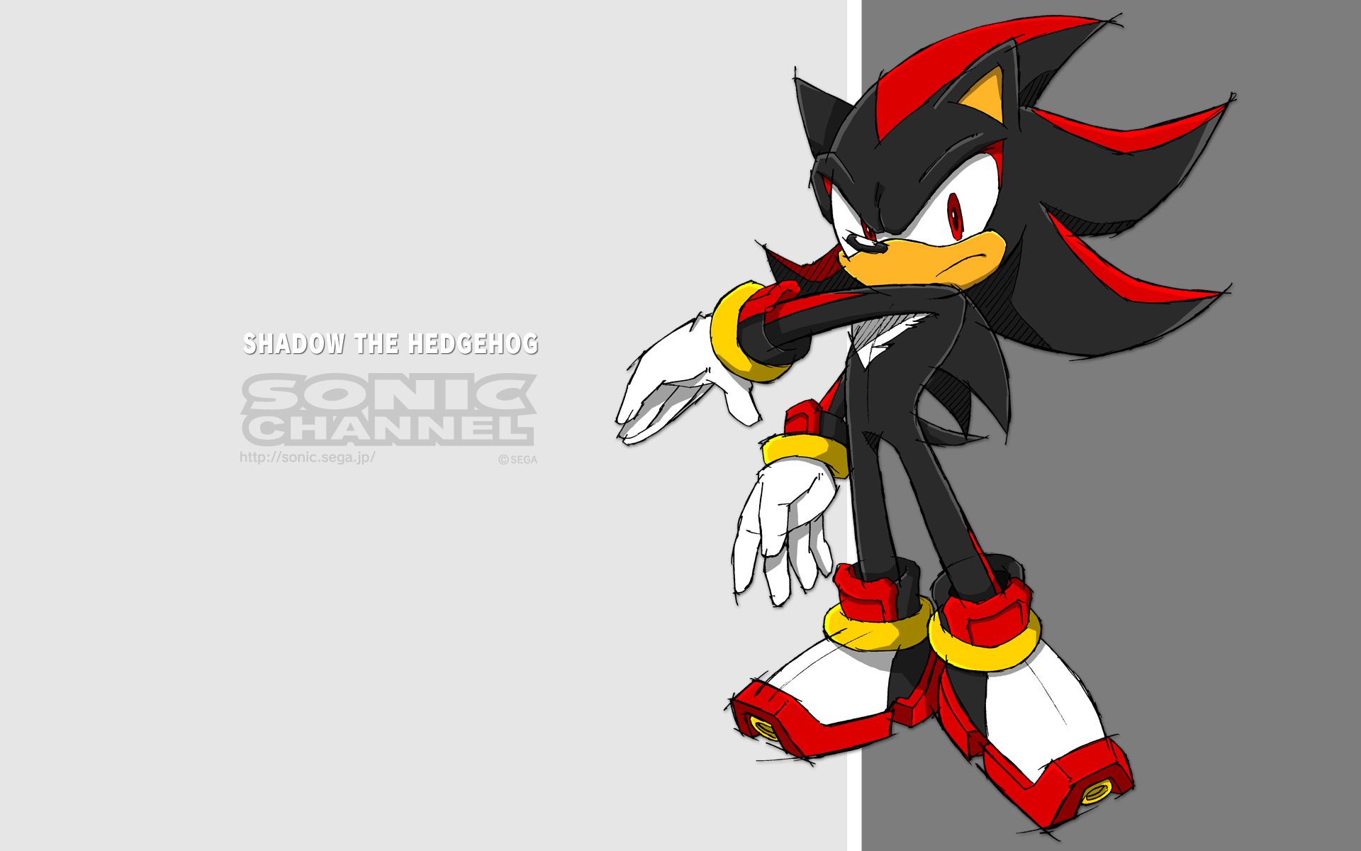 Sonic Channel Wallpaper Sonic Team Sonic The Hedgehog Shadow