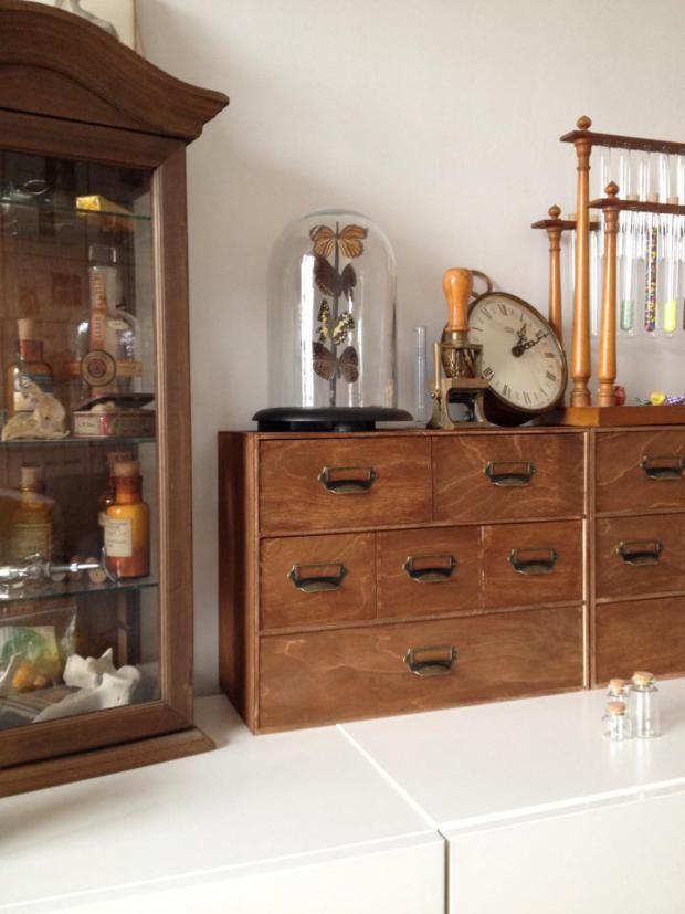 Rangements fa on meuble d apothicaire inspirations kangekiblog pinterest meuble meuble - Meuble a bijoux ikea ...