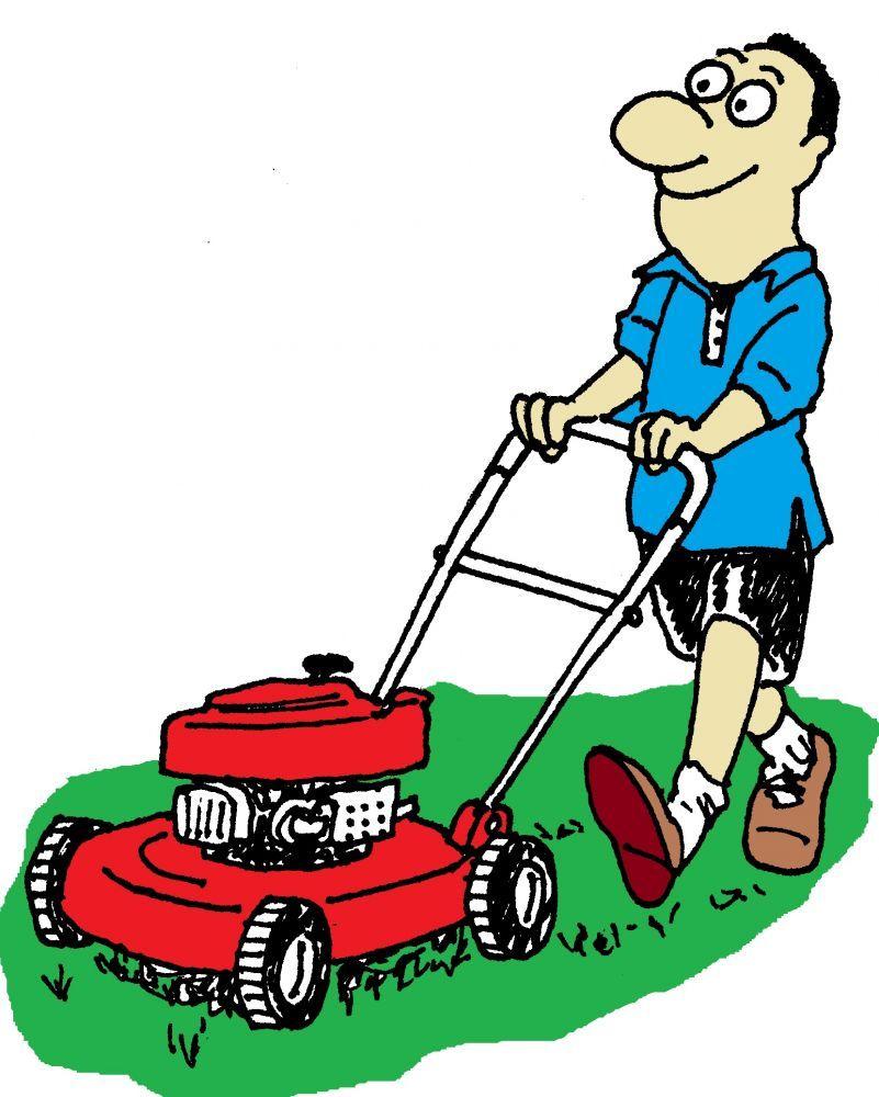 mi hermano tengo que cortar el cesped mi casa pinterest rh pinterest co uk Grass-Cutting Logos Grass-Cutting Logos