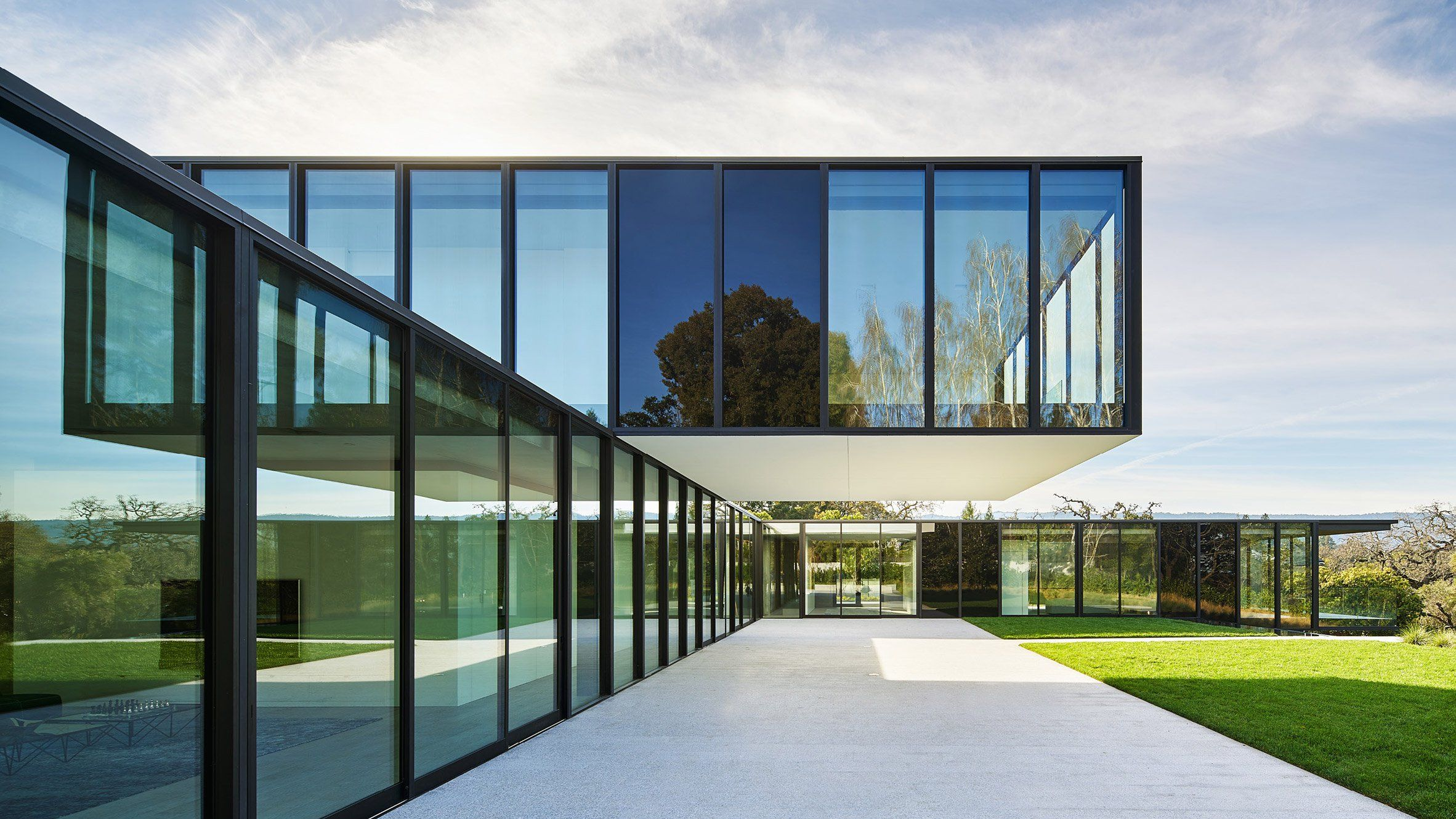 Oz House Atherton California by Stanley Saitowitz of Natoma Architects & Oz House Atherton California by Stanley Saitowitz of Natoma ...