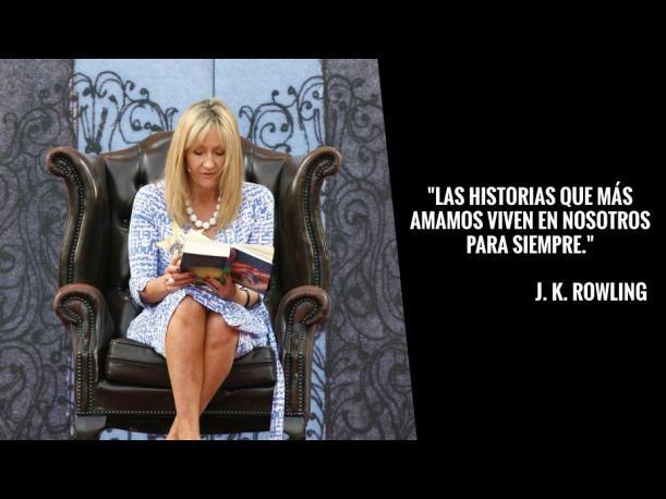 10 Frases Llenas De Magia De J K Rowling Autora De Harry Potter