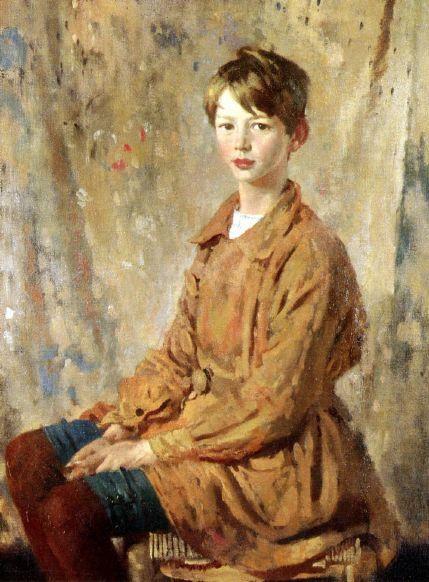 William Orpen - A Portrait Of Master Spottiswoode