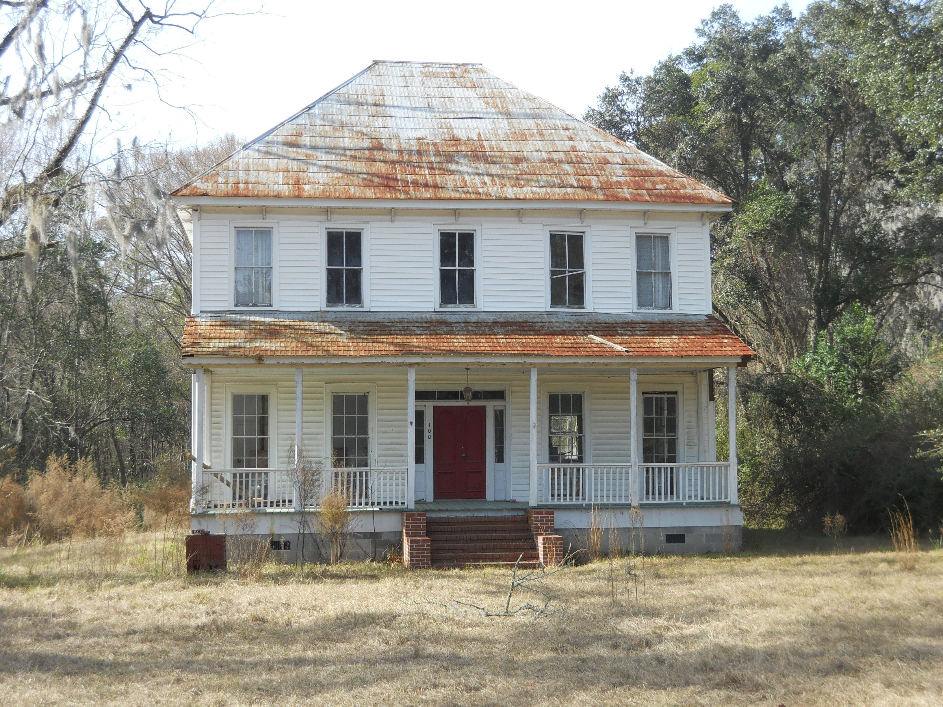 Old House In Guyton Ga