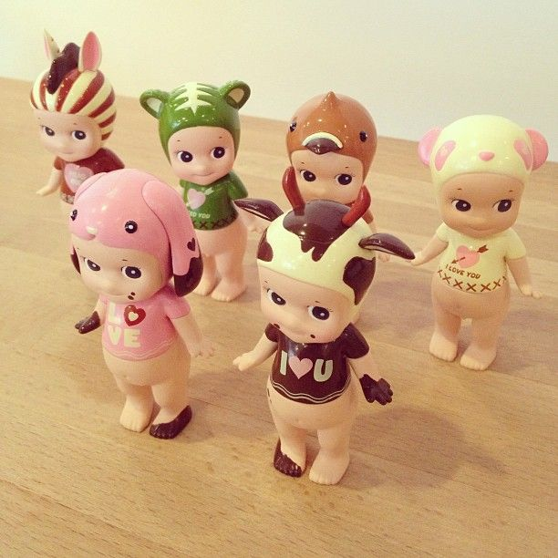New kewpies! Limited edition Valentine's Day special series, just arrived at the little dröm store