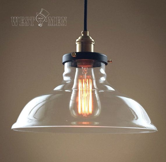 Industrial Bell Pendant Light: Vintage Industrial Style Pendant Lamp Ceiling By
