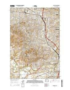 Beaverton OR topo map 1 scale 7 5 X 7 5 Minute Current