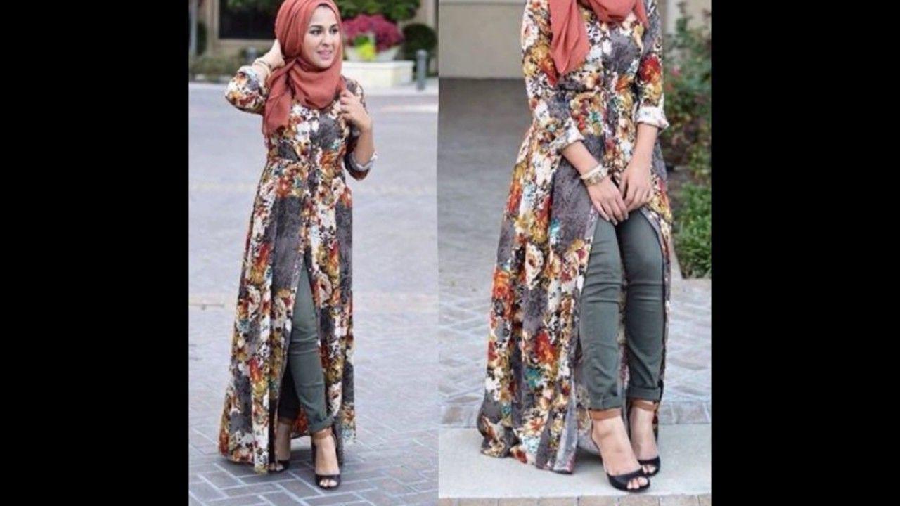 fed6865fb ملابس محجبات كاجوال 2018 , ملابس محجبات صيف 2018   me   Hijab ...
