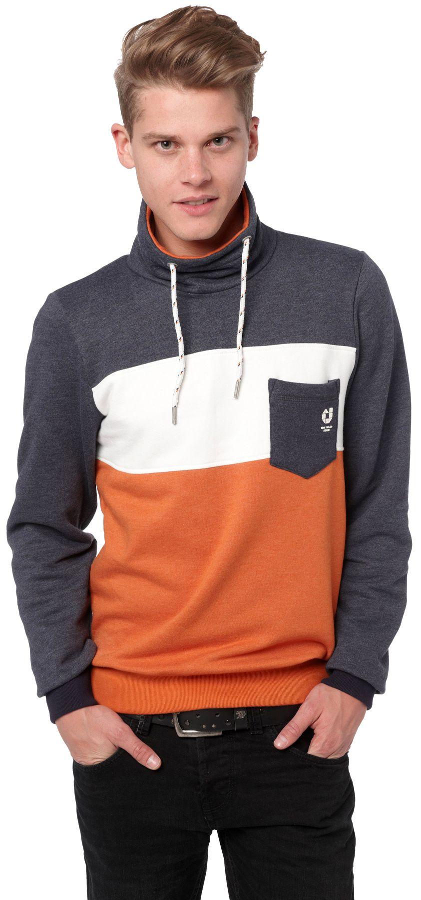 Short Sleeved From Tom Tailor Order Short Sleeved Online Now Mens Sweatshirts Hoodie Hoodies Men Tom Tailor
