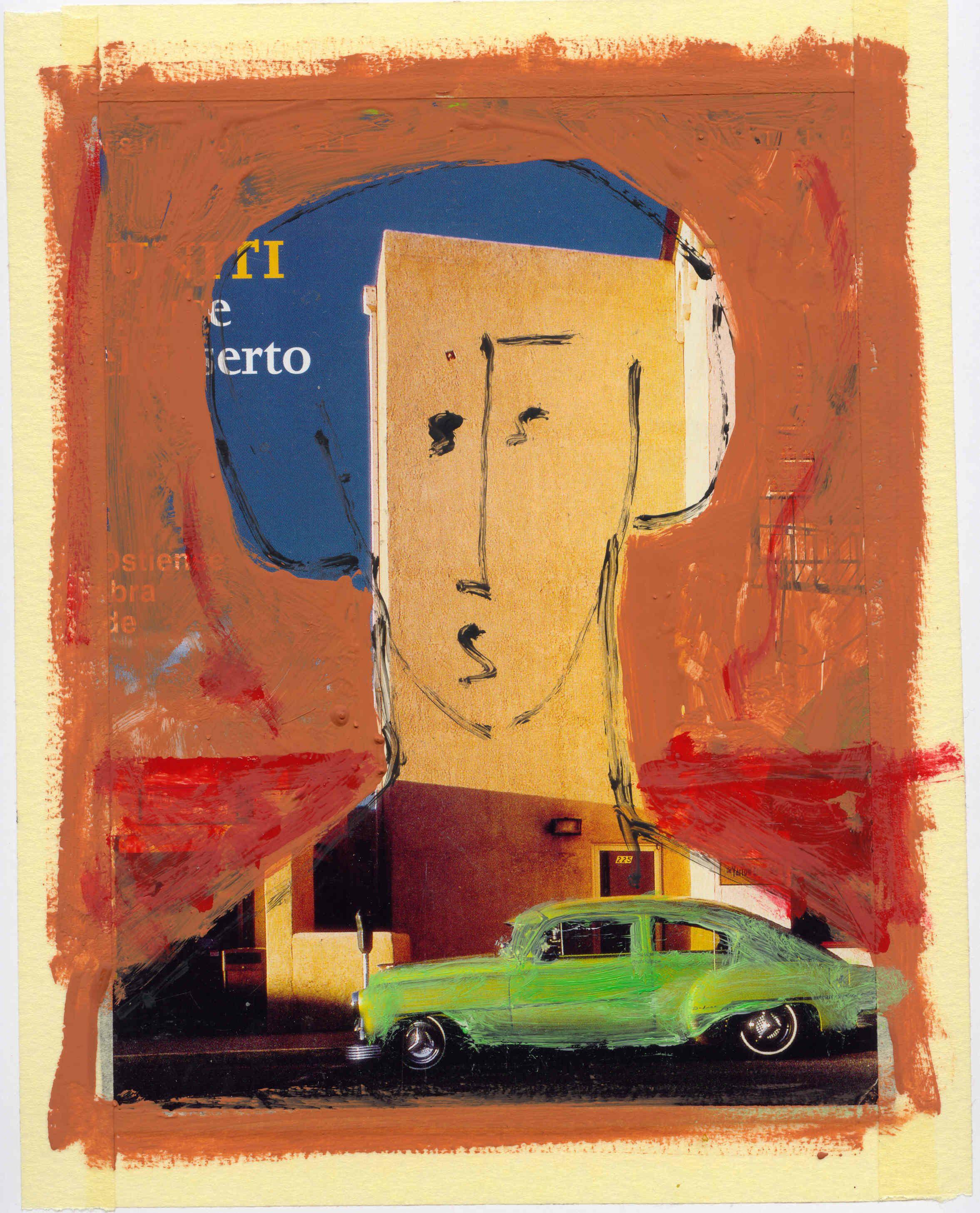 tecnica mista su carta anno 2006 autore Lino Lanaro