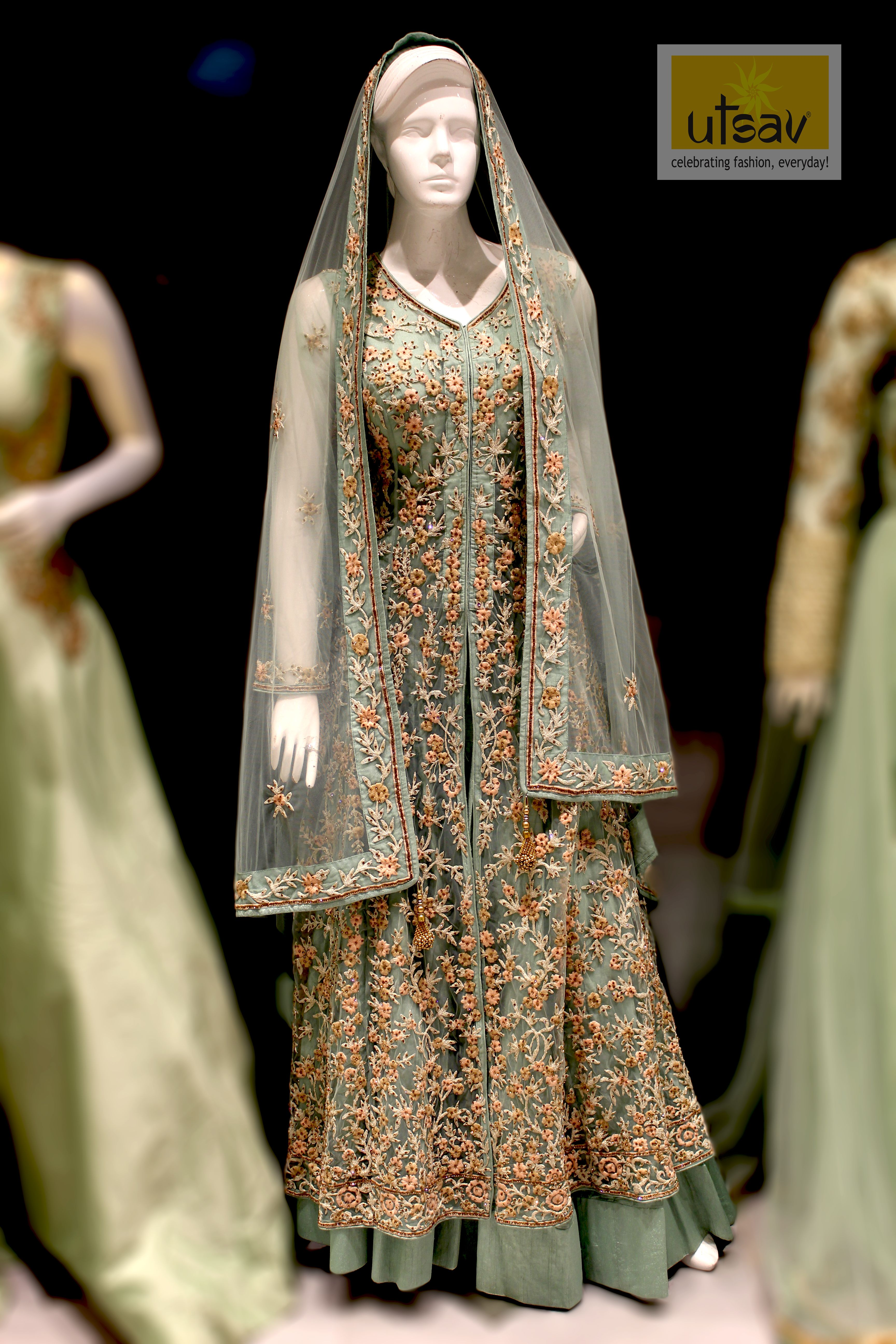 Arabic Lacha Collections Best In Kochi Saree Designs Fashion Victorian Dress