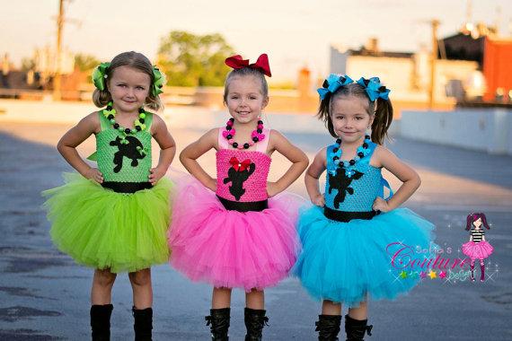 Power Puff Girls Inspired Costumes Blossom Power Puff Powerpuff