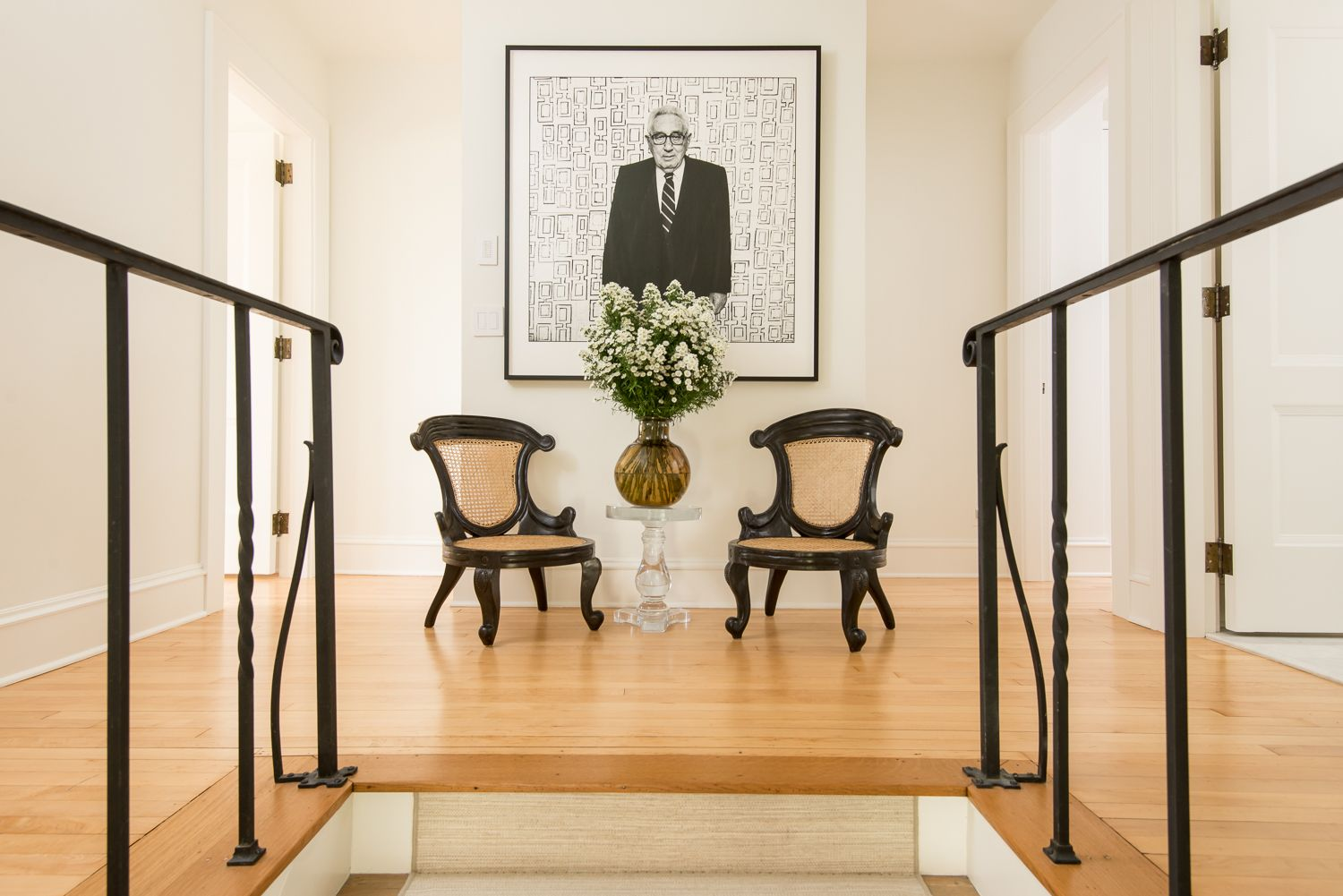 Upper stair landing - great humor! | INTERIORS BY MARTHA ...