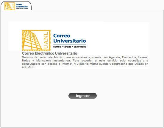 SIASE | Sistema Institucional para la Administracion de los Servicios Educativos