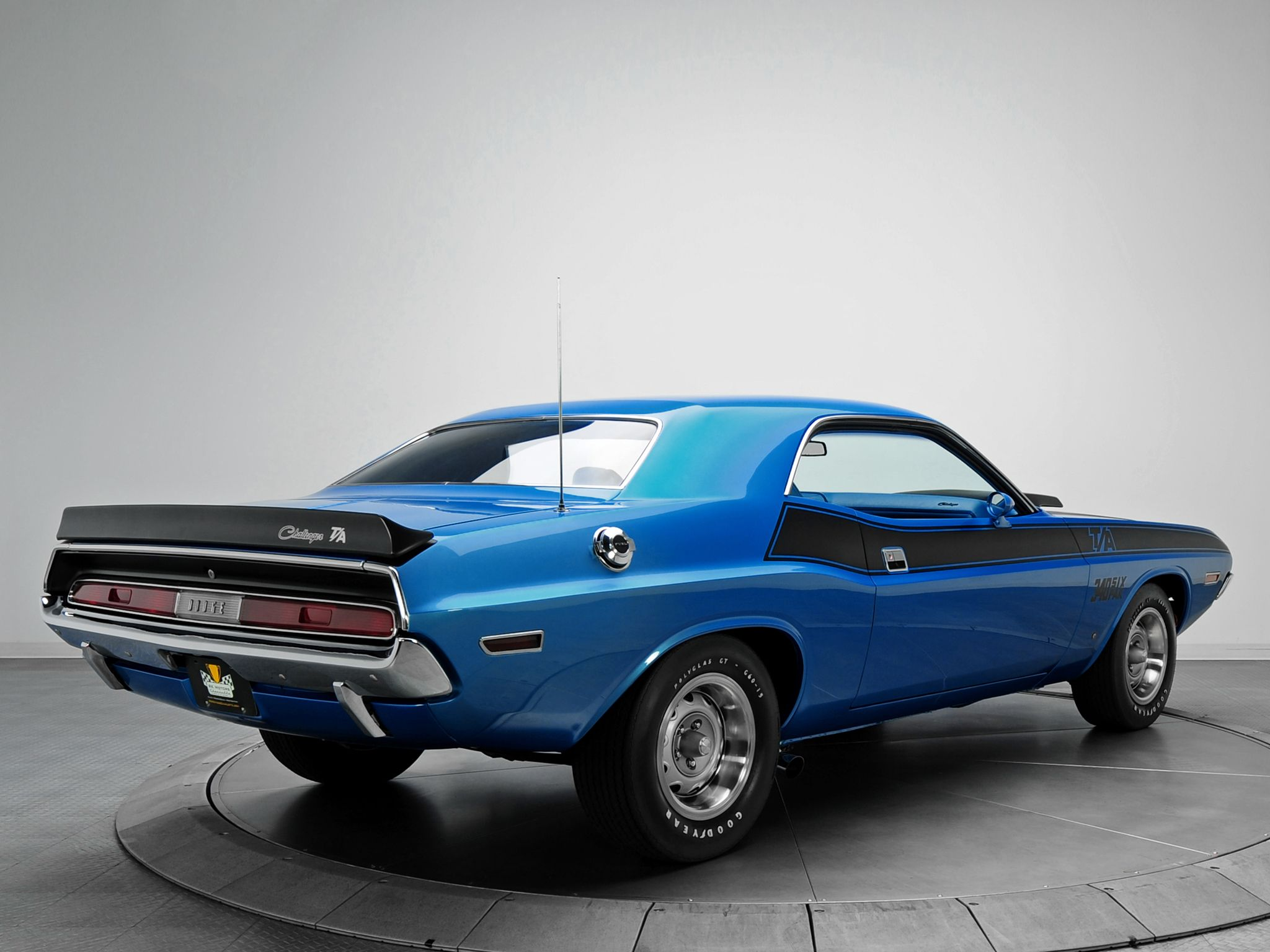 1970 dodge challenger t a 340 six pack