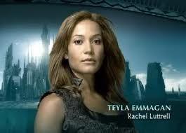 Rachel Lutrell- Teyla Emmagan- Stargate Altantis