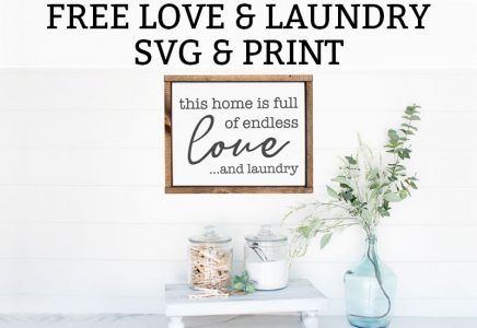 Free Laundry Room Printables - Free Print & SVG images