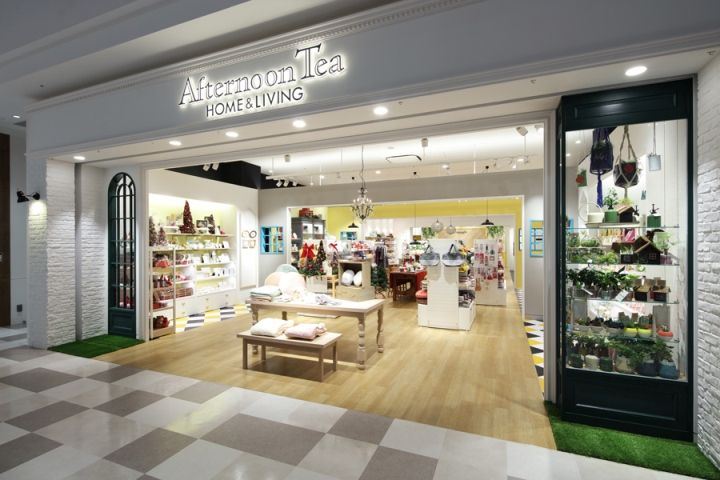 Afternoon Tea HOME LIVING Store By HEADSTARTS Osaka Japan Retail Design Blog