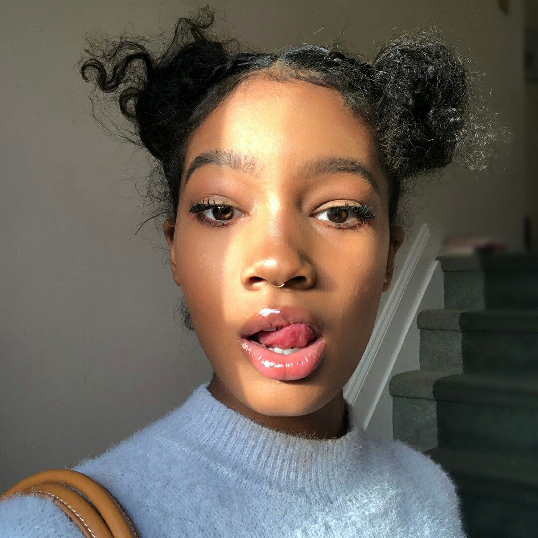 Skin growing over nose piercing  Pin by destiny on sunkissed beauties  Pinterest  Black