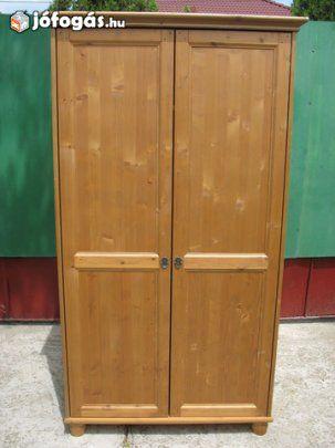 Ikea Leksvik 2 ajtós ruhásszekrény 39 | Vintage/Traditional ...