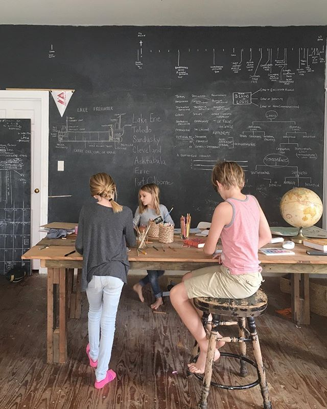 Minimalist Homeschool Room: It Can Feel Like There Are A Million Things To Accomplish