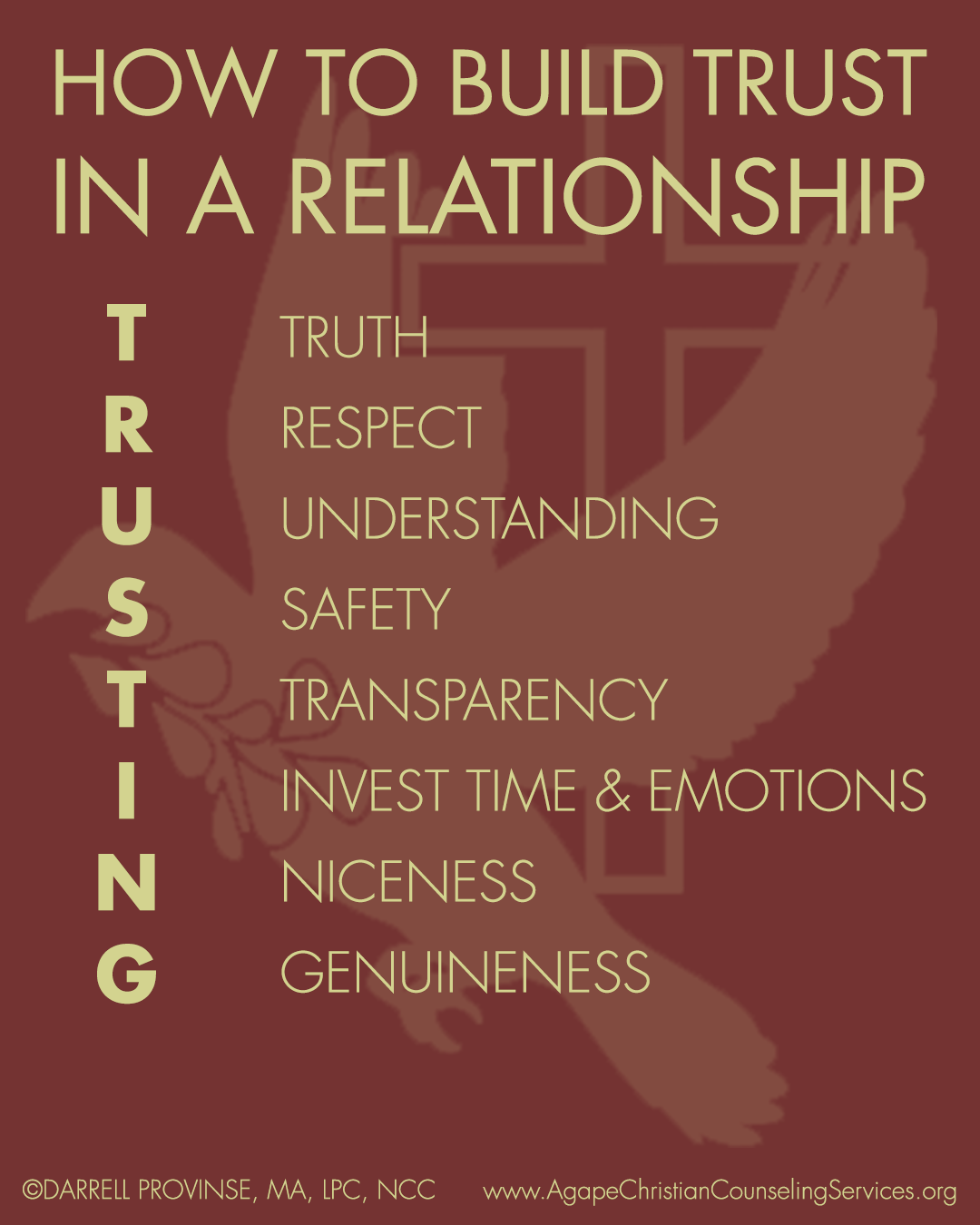 Click For How To Use The Trusting Acronym To Build Trust
