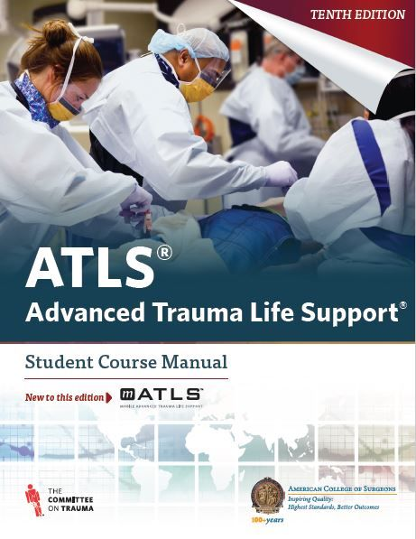 ATLS Advanced Trauma Life Support 10th edition | mebooksfree ...