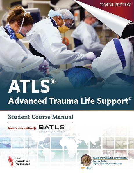 atls advanced trauma life support 10th edition mebooksfree rh pinterest com Trauma Nurses Logo Trauma Nurse Shirt