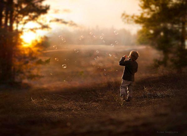 Magical Portraits of Children by Elena Shumilova