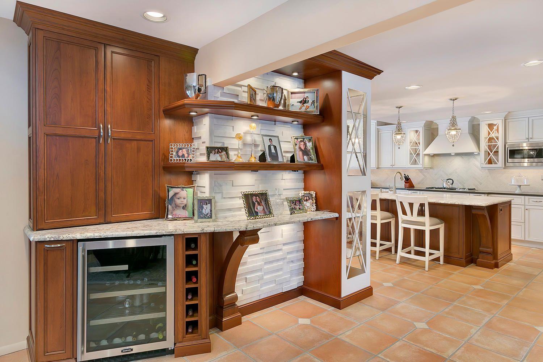 Custom Home Bars Design Line Kitchens In Sea Girt Nj Bar - Design-line-kitchens