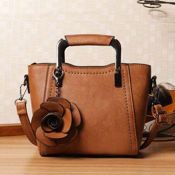 ca01e818ba225 Hot sale designer women pu leather retro rose handbag mini crossbody bag  online newchic also rh