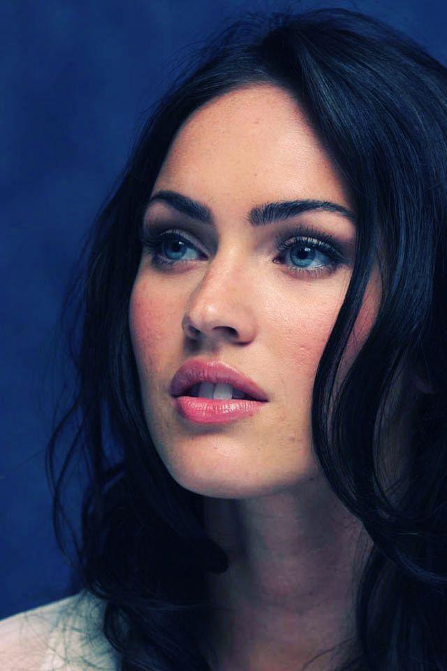Hd Iphone Wallpapers Free Megan Fox Make Up Free Aktrisy Portrety Devushek Lico