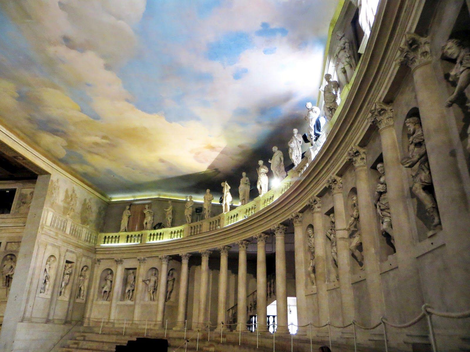 Teatro Olimpico A Vicenza Palladio Con Immagini Muri Del