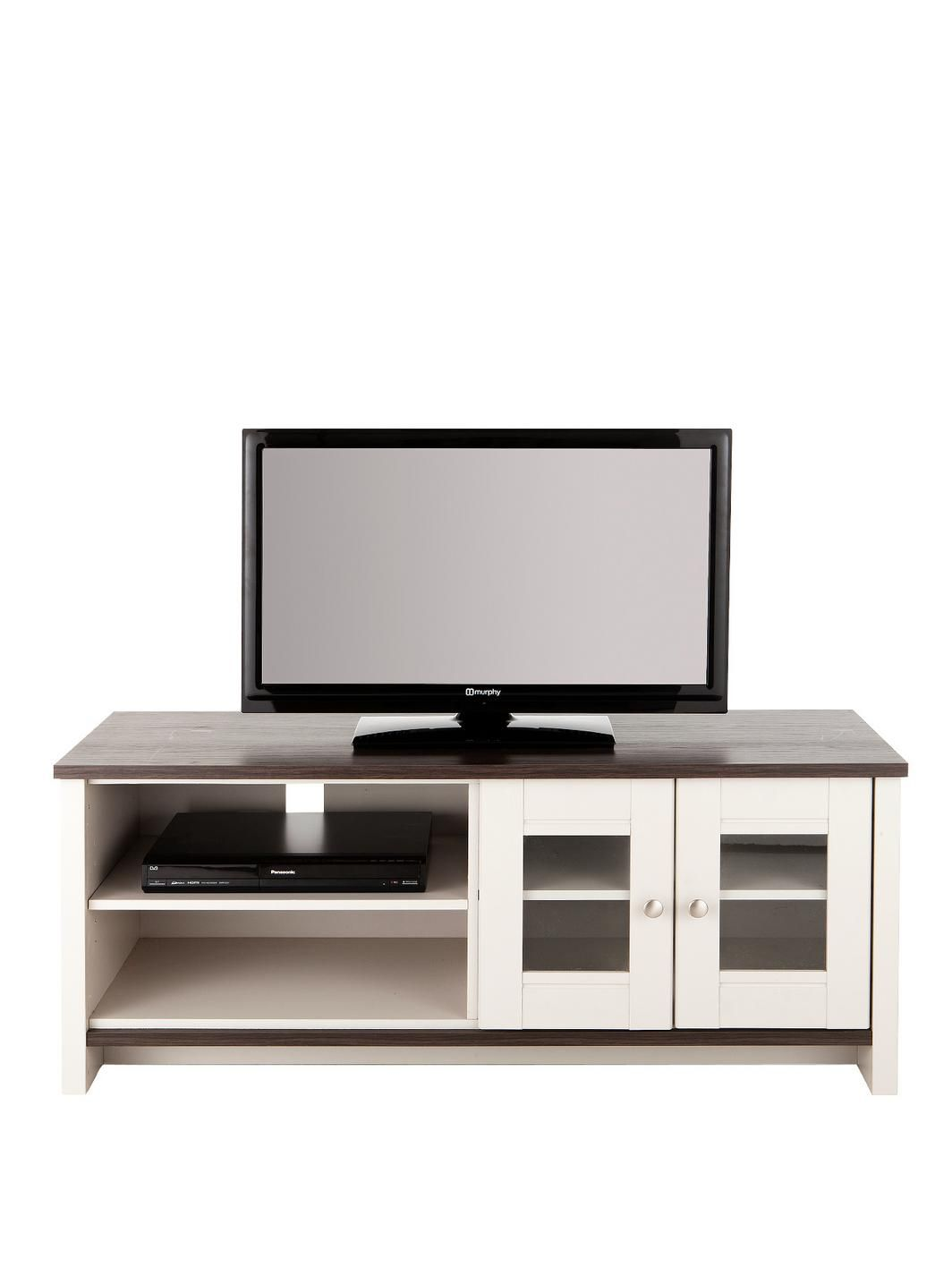 Consort Tivoli Ready Assembled Tv Unit Fits Up To 52 Inch Tv 5  # Meuble Tv Willis