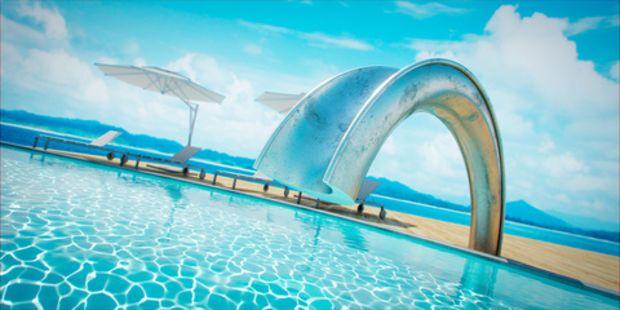 Shoot Pool Slide by SPLINTER WORKS at Bespoke Global