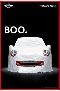 Mini Cooper! Boo! Haaaaaa!