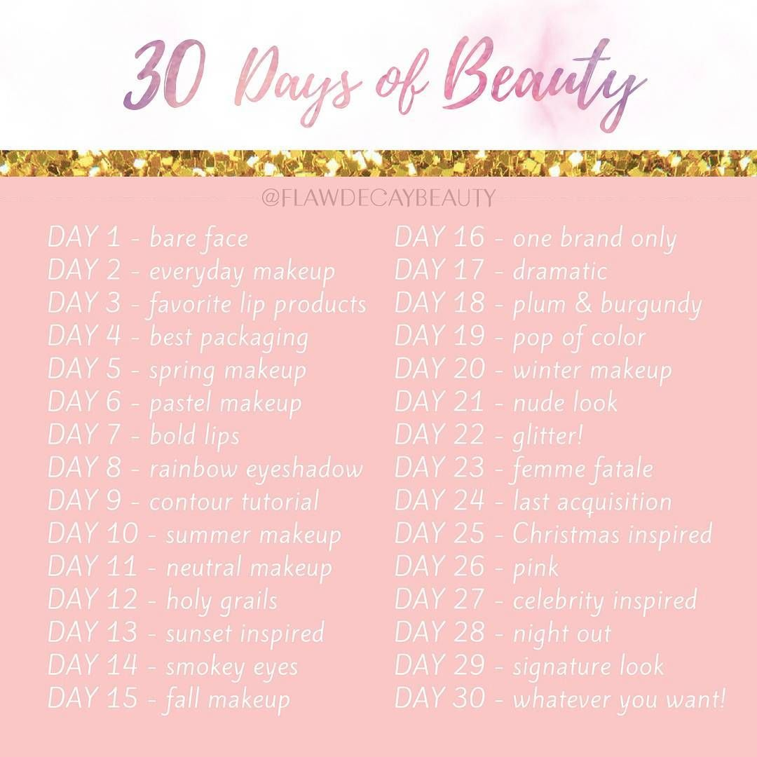 30 Days Of Beauty Makeup Challenge Paula Flawdecay Flawdecaybeauty En Instagram Starting This Challenge On Makeup Challenges Instagram Makeup Makeup