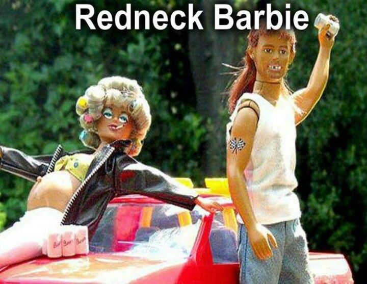 Trailer Park Barbie Barbie Funny Bad Barbie Barbie