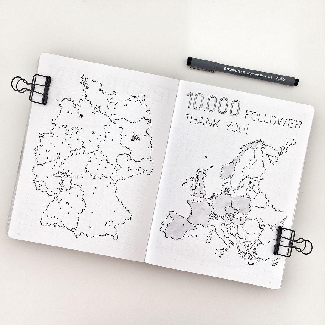 Die Karten sind fertig und ich freue mich riesig, euch das Ergebnis zu zeigen. Herzlichen Dank für die hohe Beteiligung und die Bereitschaft, an diesem gemeinsamen Projekt mitzuwirken! Ich bin überglücklich und freue mich über jeden einzelnen Punkt. Es ist verblüffend zu sehen, von wo aus in der Welt überall meine Beiträge verfolgt werden – obwohl ich ausschließlich auf Deutsch schreibe. Die meisten Follower kommen (natürlich) aus meiner Heimat Deutschland. Besonders groß war die Beteiligung…