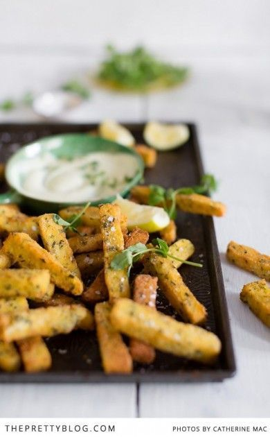 Yummy Polenta Fries   Photographer: Catherine Mac, Recipe, testing, preparation & styling: Luisa Farelo
