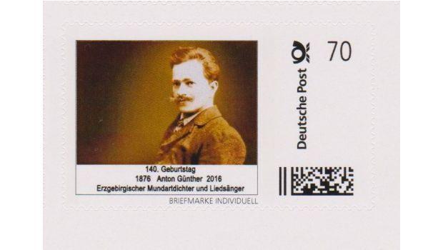 Zwei #Briefmarken zum 140. #Geburtstag