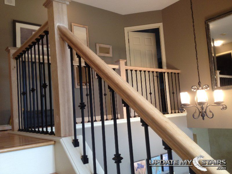Plain And Single Knuckle Balusters Installed By Update My