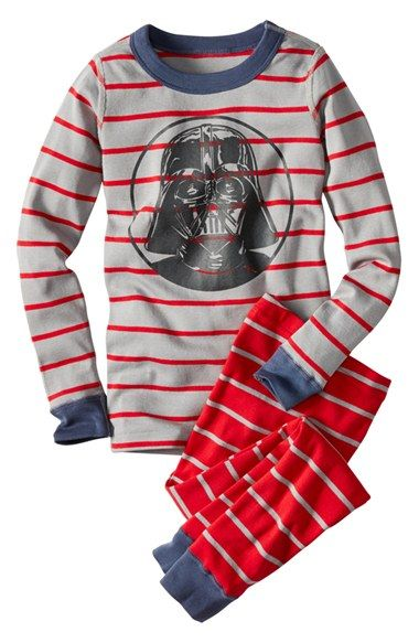 1fab017f07 Free shipping and returns on Hanna Andersson  Star Wars™ - Darth Vader   Organic Cotton Two-Piece Fitted Pajamas (Little Boys   Big Boys) at  Nordstrom.com.