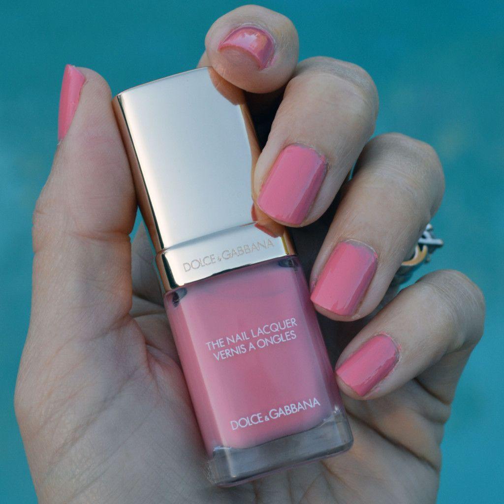 585c1eb853dc Dolce   Gabbana Bonbon for spring  springnails  springbeauty  pink   nailpolish  dgbeauty  nails